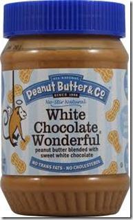 white chocolate pb