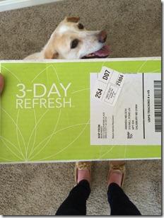 three day refresh box