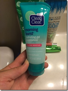 Clear and Clear Moisturizer