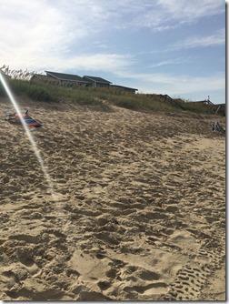 hilly beach